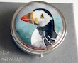 puffin enamel box