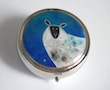 sheep enamel box